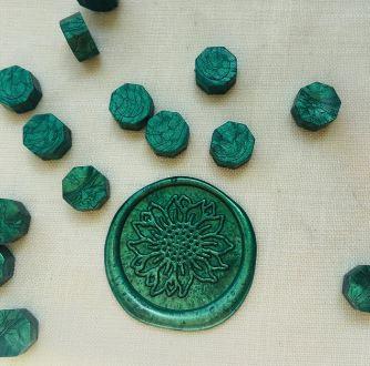 ceralacca verde metallizzato