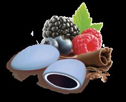 Confezione da 500 Gr di confetti ai frutti di bosco