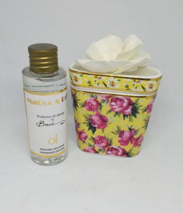 Profumatore mini bouquet giallo Baci Milano