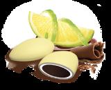 Confezione da 500 Gr di confetti al limone
