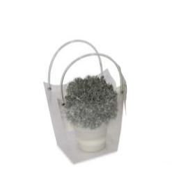 Wedding Bag piccola in plastica trasparente rigida