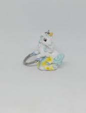 Unicorno celeste portachiave