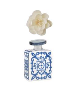 Bottiglia profumatore 100 ml comprensiva di fiore diffusore