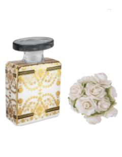 Bottiglia profumatore 100 ml completo di fiore diffusore e fragranza