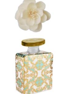 Bottiglia profumatore 100 ml con fiore diffusore e fragranza