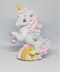 Salvadanaio unicorno rosa bimba