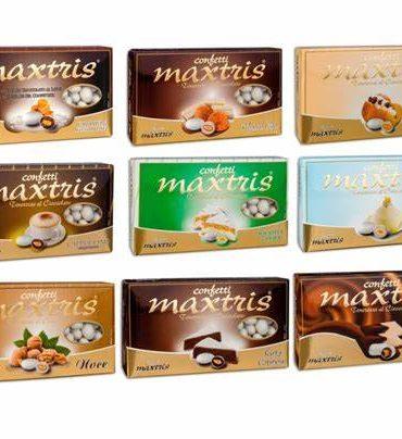 Confetti Cioccomandorla Maxtris Kit da 8 Kg per Confettata Matrimonio