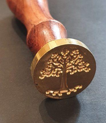 Timbro Albero Vita Ceralacca Da 2,5 cm Di Diametro