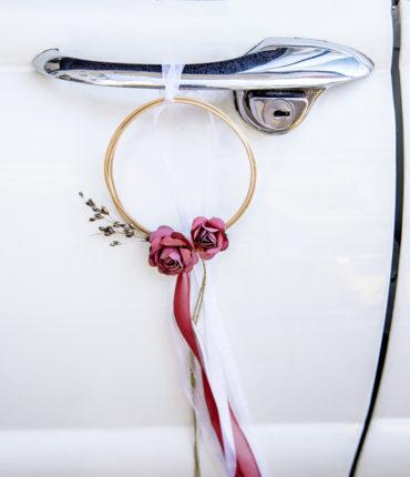 Kit decorazione auto rosso
