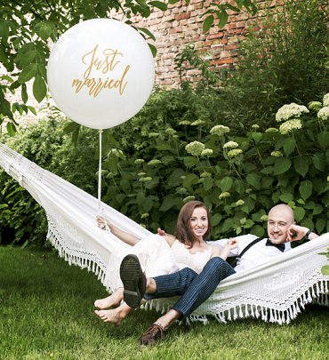 """Pallone Gigante """"JustMarried"""""""