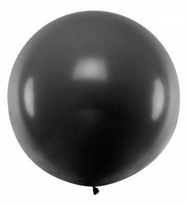 """Pallone Gigante """"Nero"""" da 1 metro"""