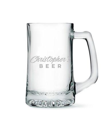 Boccale Vetro Birra Personalizzato
