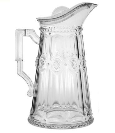 Brocca Plexiglass Trasparente Baci Milano capienza di 2 litri